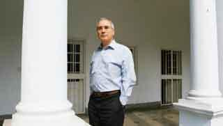 Role recognition: Nicholas Stern says the perception of India as being difficult and intransigent has changed; now it's being seen as constructive 'and that wasn't true about a year ago'. Ramesh Path