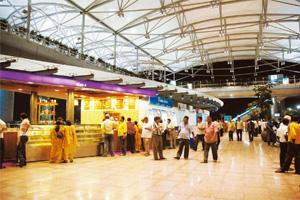 Double trouble: A file photo of Hyderabad International Airport. Bharath Sai / Mint