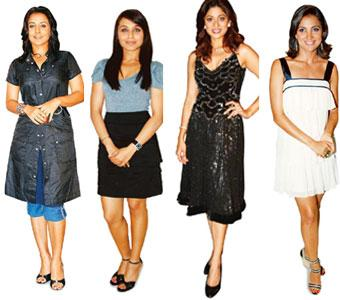 (left to right) Calisthenic curves: For Vidya Balan's curvaceous but toned look, her trainer recommended exercises that use body weight for resistance. Athletics-inspired: Rani Mukherjee's sporting ro
