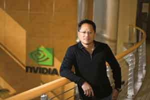 Open competition: Jen-Hsun Huang, co-founder and chief executive officer of graphic chips maker Nvidia.