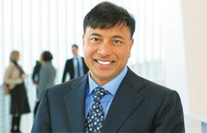 Exploring options: ArcelorMittal's CEO Lakshmi Mittal.