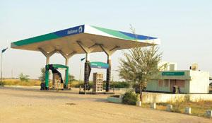 Cautious step: A file photo of a closed RIL petrol pump in Rajasthan. The reopening of RIL's fuel pumps has been done mostly in western and southern India, says the head of the firm's refinery busine