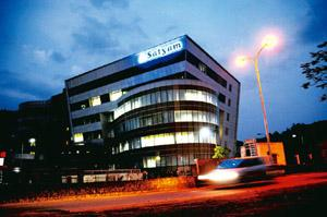 Scam-tainted: The Satyam Computer corporate office in Hyderabad. Bharath Sai/Mint