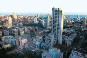 Inflated rates: The skyline of Mumbai. Liases Foras founder and managing director Pankaj Kapoor says builders have raised prices to push up their valuations in the run-up to raising money. Bloomberg