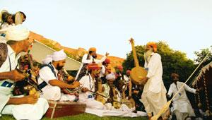 Desert song: Rajasthani folk music has inspired many hit ad tunes. Ramesh Pathania/Mint