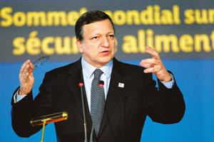 Delegating power: European Commission president Jose Manuel Barroso. Alessandro Di Meo / AP