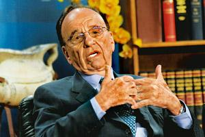 Net effect: Rupert Murdoch, chairman and CEO of News Corp. Bloomberg