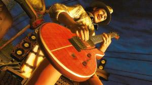 Virtually real: Guitar Hero can teach you beats and chord patterns.