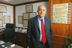 One roof: M&M Systech group president Hemant Luthra says the move will help the firm strengthen financially.
