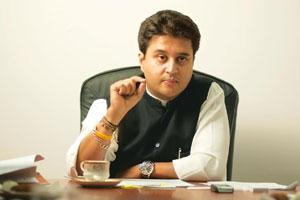 Making a point: Jyotiraditya Scindia, minister of state, Commerce and Industry. Harikrishna Katragadda / Mint