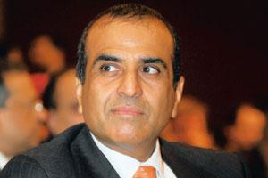 Looking east: Bharti Airtel's Sunil Mittal. Bharti's deal with Warid Telecom may be worth $900 million, according to reports. Rajkumar / Mint
