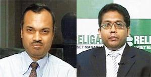 Street signs: DSP Merrill Lynch's Jyotivardhan Jaipuria (left) and Religare's Vetri Subramaniam.