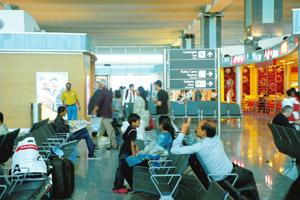 Centre of controversy: The Bangalore International Airport. The panel has also called for reopening the old airport in Bangalore. Hemant Mishra / Mint