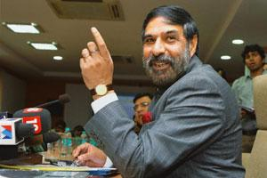 Policy consolidation: Commerce minister Anand Sharma. Kamal Kishore / PTI
