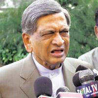 Tough stand: External affairs minister S.M. Krishna says issues relating to visa guidelines should be sorted out within the ministry. Shahbaz Khan/PTI