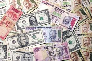 Crucial factor: Developments in the US will have a bearing on the rupee's movement in 2010. Amit Bhargava / Bloomberg