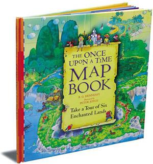 The Once Upon a Time Map Book: By Barbara Gulbrandsen Hennessy, illustrated by Peter Joyce, Walker Books and subsidiaries, 20 pages, Rs350 (hardcover).