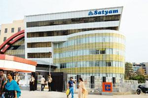 Revival strategy: Mahindra Satyam's headquarters in Hyderabad. The firm aims to regain its position among top five IT Indian firms by 2012. Bharath Sai / Mint