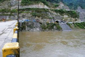 Sharing protocol:The site of a proposed hydel project on the Arunachal Pradesh border. Under international law, a country's right over natural resources becomes stronger if it is already putting them