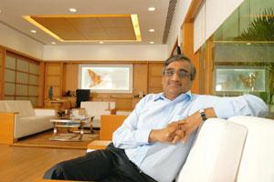 Inflationary pressure: Future Group chairman Kishore Biyani says the retail group hasn't been affected by the rise in food prices to a large extent as consumers have adapted to it by changing their co