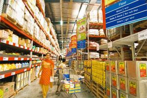 Brand value: A file photo of Bharti-Walmart's Best Price Modern Wholesale outlet in Amritsar. The firm's applications for trademarks were made public late last year—most are being opposed. Ramesh Path
