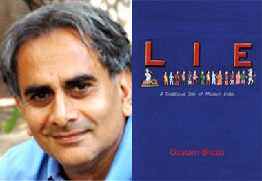 (From left) Gautam Bhatia is an architect who is now publishing his first graphic novel; Lie--a traditional look at modern India.