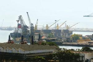 Local laws: The port at Chennai. The arrival of AET on the scene will intensify competition for carrying petroleum products along the coast. Hemant Mishra / Mint