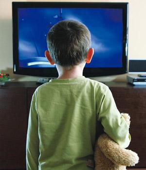 TV troubles: Watching soaps daily is not healthy for children.