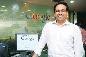India focus: Shailesh Rao, managing director of Google India. Google is growing in double digits annually and is profitable in the country. Jagadeesh NV/Mint