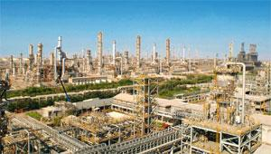 Eroding revenue: RIL's Jamnagar refinery. Lower margins on oil refining and petrochemicals are expected to temper the firm's profit growth. AFP