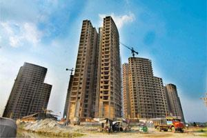 Advance payment: A residential complex in Kolkata. LIC Housing Finance and HDFC are among those that have been issued notices. Indranil Bhoumik/ Mint
