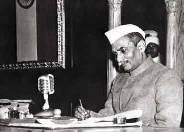 We the people: Rajendra Prasad was the president of the Constituent Assembly.