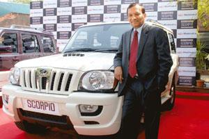 Road ahead: Pawan Goenka, president (automotive segment) at Mahindra & Mahindra, is watching out for the Budget. Ashesh Shah / Mint
