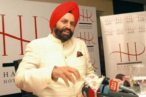 Credentials questioned: A file photo of Sant Singh Chatwal, who the BJP says, was arrested in Mumbai but secured bail and left the country.