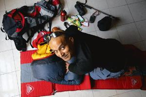 Trailblazer: Depi Chaudhry finds that today, more than ever before, Indians are keen on trekking. Pradeep Gaur / Mint