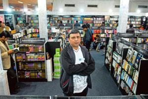 Thomas Abraham, Managing Director, Hachette India. Hachette India managed to pip Harper Collins to the second spot by selling Rs5 crore worth of Twilight books. Pradeep Gaur / Mint