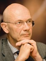 Optimistic note: World Trade Organization chief Pascal Lamy. Ramesh Pathania/Mint