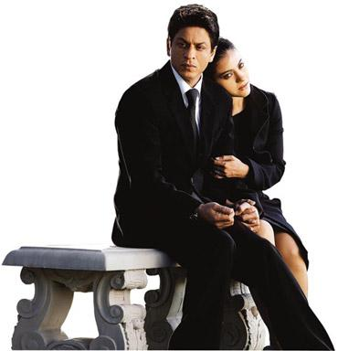 Something different: Rizvan (Khan) and Mandira's (Kajol) romantic world is handled with the right degree of restraint.