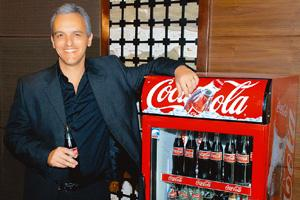 Growing market: Coca-Cola's Ricardo Fort says the beverage company is bullish on India.