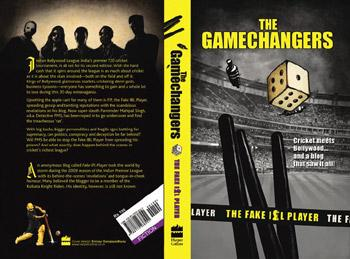 From blog to book: The Gamechangers will be released a day before IPL's third season starts.