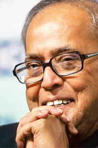 Captain Courageous: Mukherjee did not sidestep the fiscal deficit. Atul Yadav / PTI