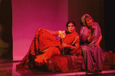 On stage: The biographical play Nati Binodini.