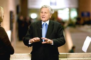 Continued uncertainty: ECB president Jean-Claude Trichet Andrew Harrer / Bloomberg