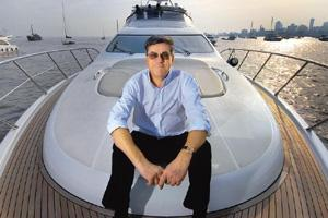Yachtsman: Vitelli says unlike the Chinese, Indians like the water. Abhijit Bhatlekar / Mint