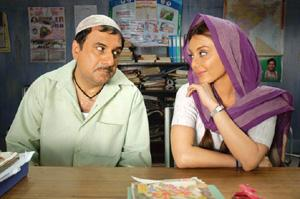 Safe bet: Boman Irani (left) and Minissha Lamba in Well Done Abba