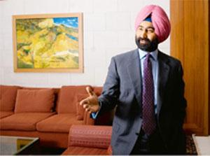 Balancing act: Fortis chairman Malvinder Singh says the company will continue to focus on and grow within the domestic market and will use Parkway and the Parkway brand for international acquisitions.