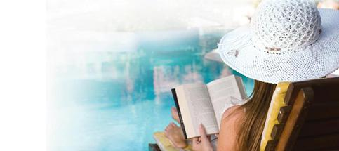 Page-turner: What's your idea of a good summer holiday read?