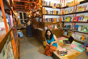 Alternative: Das started Yodakin as a retail space for Yoda books. Priyanka Parashar/Mint