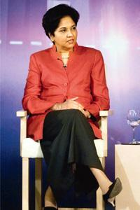 Aligning strategies: PepsiCo chief executive officer Indra Nooyi. Rajkumar / Mint
