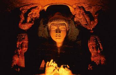 Index: Ancient monuments such as the Ajanta caves are a mark of our civilization. AFP